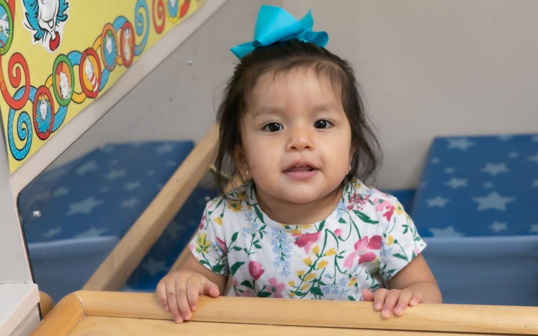 Infant/Toddler room girl